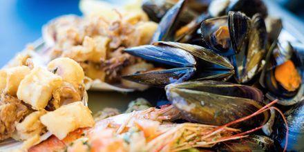 Under din semester på Malta bör du prova fisk och skaldjur, något malteserna är väldigt bra på.