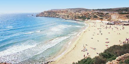 Malta har ett fåtal stränder som alla är fantastiskt fina.