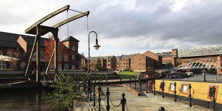 Castlefield, Manchester, England.