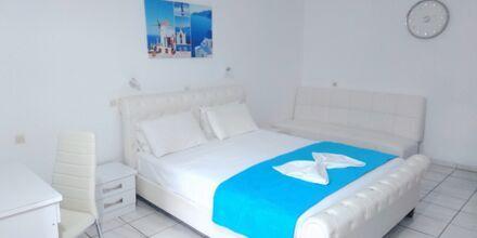 Enrumslägenhet på hotell Mando på Samos, Grekland.