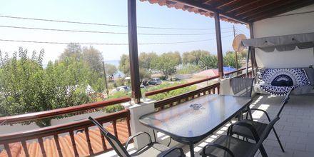 Tvårumslägenhet på hotell Mando på Samos, Grekland.
