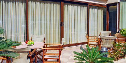 Hotell Manousos i Rhodos stad, Grekland.