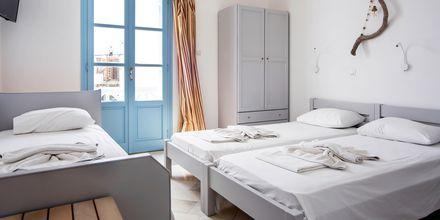 Dubbelrum på hotell Mantalena, Antiparos, Grekland.