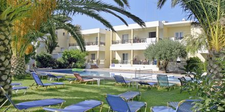 Hotell Marakis i Platanias på Kreta, Grekland.