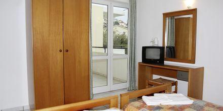 Tvårumslägenhet på hotell Marakis i Platanias på Kreta, Grekland