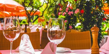 Restaurang i Marbella, Spanien.