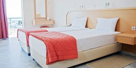 Enrumslägenhet på hotell Marel i Rethymnon, Kreta.