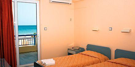 Tvårumslägenhet på hotell Marel i Rethymnon, Kreta.