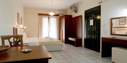 Enrumslägenhet på hotell Margarita i Parga, Grekland.