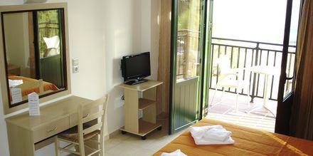 Tvårumslägenhet på Margarita Beach Resort GD's Hotels i Agia Marina.
