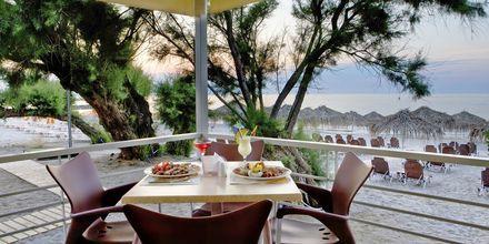 Restaurang på Margarita Beach Resort GD's Hotels i Agia Marina på Kreta.
