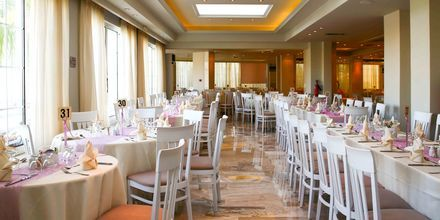 Restaurang på hotell Margarita på Zakynthos, i Grekland.