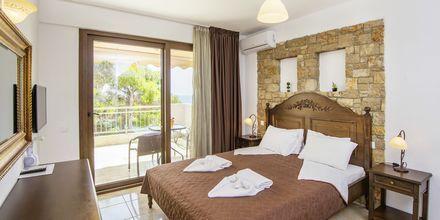 Enrumslägenhet på hotell Marilena på Alonissos, Grekland.