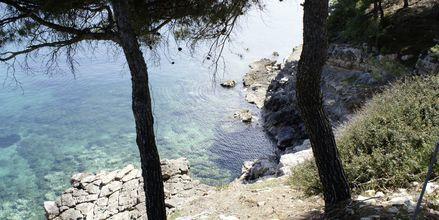 Hotell Marilena på Alonissos, Grekland.
