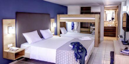 Familjerum på hotell Marina Beach i Gouves, Kreta.