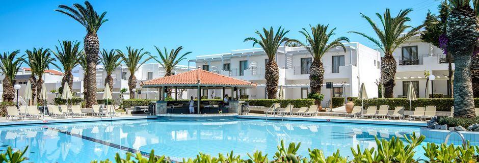 Hotell Marina Beach i Gouves, Kreta.
