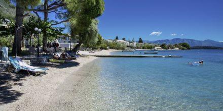 Stranden vid Marina Pansion, Lefkas.