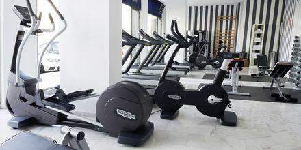 Gym på Marina Suites i Puerto Rico på Gran Canaria.