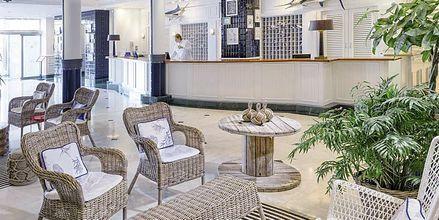 Reception på Marina Suites i Puerto Rico på Gran Canaria.
