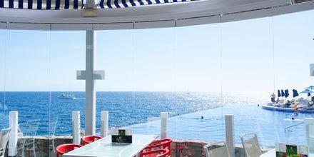 Restaurang på Marina Suites i Puerto Rico på Gran Canaria.
