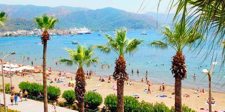 Strandpromenad i Marmaris, Turkiet.