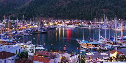 Marinan i Marmaris, Turkiet.
