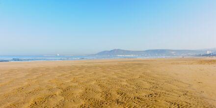 Strand i Agadir i Marocko.