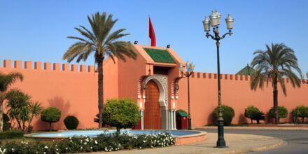 Det kungliga palatset i Marrakech, Marocko.