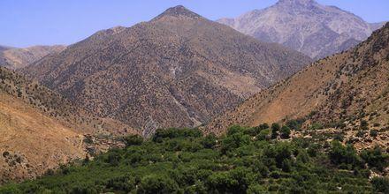 Atlasbergen i Marocko.