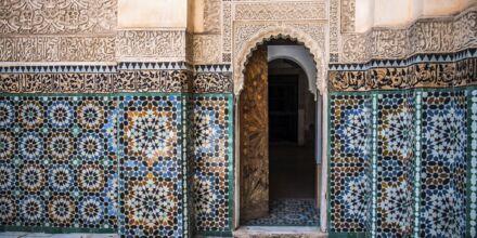 Marockanska väggdekorationer.