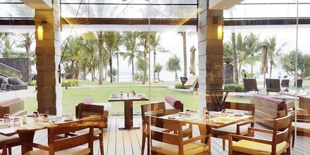 Restaurang på Marriott Resort Weligama Bay i Sri Lanka.