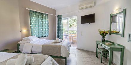 Tvårumslägenhet på hotell Mary, Kreta.