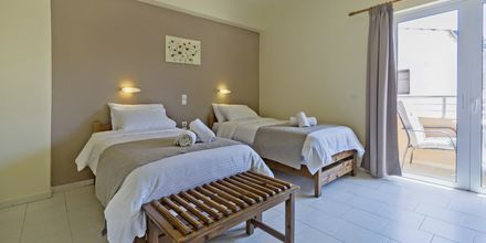 Enrumslägenhet på hotell Mary, Kreta.