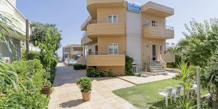 Hotell Mary i Platanias på Kreta, Grekland.