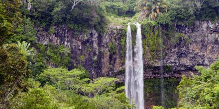 Chamarelfallen på Mauritius.