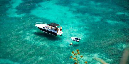 Snorkling på Mauritius.