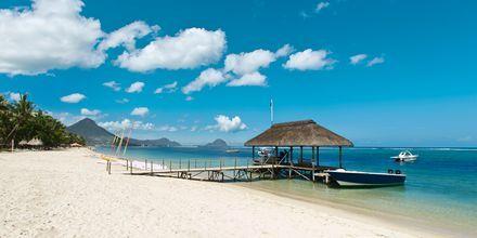 Stranden Flic en Flac, Mauritius.