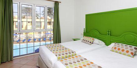 Trerumslägenhet i etage på hotell Maxorata Beach i Corralejo, Fuerteventura.