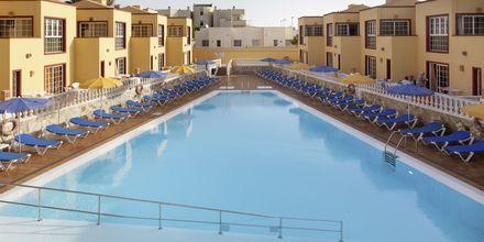 Poolen på hotell  Maxorata Beach i Corralejo, Fuerteventura.