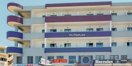 Hotell Medusa i Rethymnon stad på Kreta, Grekland.