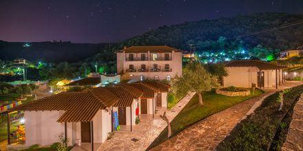 Hotell Mega Ammos i Sivota, Grekland.