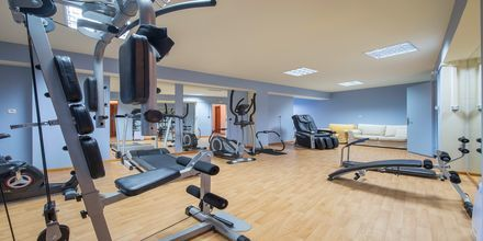 Gym på hotell Mega Ammos i Sivota, Grekland.