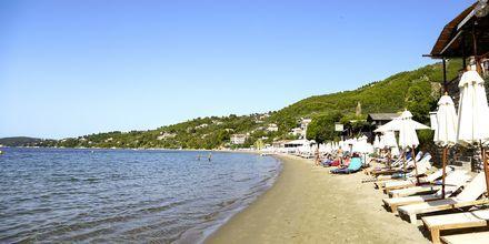 Stranden i Megali Ammos.