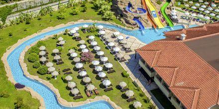 Vattenpark på hotell Melas Holiday Village i Side, Turkiet.