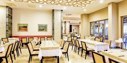 Restaurang på hotell Melas Holiday Village i Side, Turkiet.