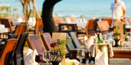 Restaurangen på hotell Melas Resort i Side, Turkiet.
