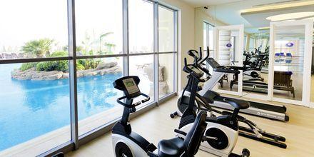 Gymmet på hotell Melas Resort i Side, Turkiet.