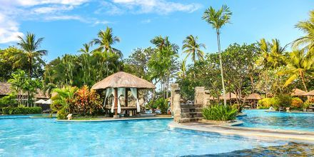 Pool på hotell Melia Bali Villas & Spa i Nusa Dua, Bali.