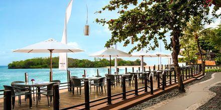 Strandrestaurangen Sateria på hotell Melia Bali Villas & Spa i Nusa Dua, Bali.