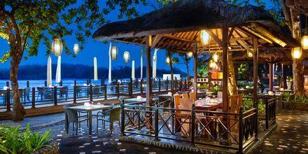 Restaurang Sateria på hotell Melia Bali Villas & Spa i Nusa Dua, Bali.